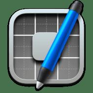 macOS Panel Editor icon 512 x 512