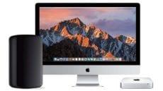 iMac, Mac Pro, and Mac mini