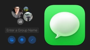 macOS Messages group conversations