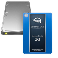 Add a second drive. Choose an OWC SSD or hard drive.