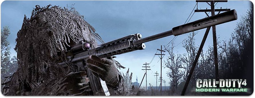 call of duty modern warfare 2 guns and perks. Call of Duty 4 - Modern