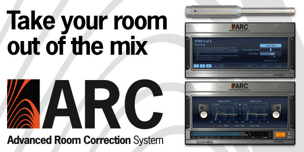 Take your room out of the mix: ARC: Advanced Room Correction System