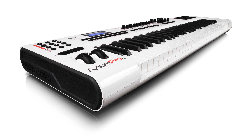 keyboard 61 weighted keys controller. Black Bedroom Furniture Sets. Home Design Ideas