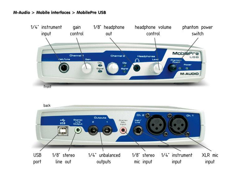 m audio mobilepre driver windows