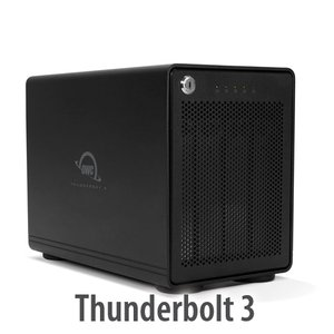 OWC ThunderBay 4 with Thunderbolt 3