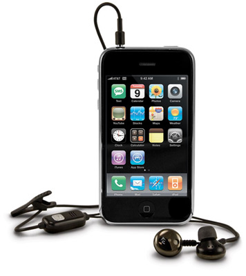 NewerTech® Hands-Free Mic & Earbuds for iPhone®