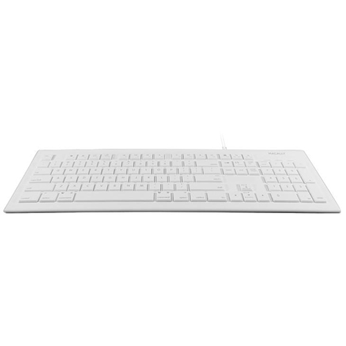 12649232101 Macally 104 Key Full-Size USB Keyboard For Mac