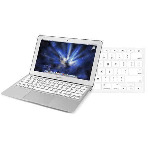 NewerTech (*) NuGuard Keyboard Cover - White Color at MacSales.com