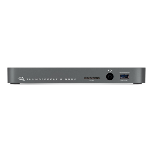 (*) OWC 13-Port Thunderbolt 3 Dock with Cable - Space Gray