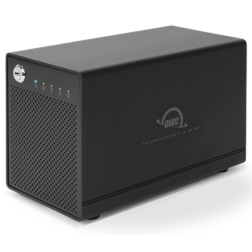 OWC ThunderBay 4 mini, four-bay drive enclosure... at MacSales.com