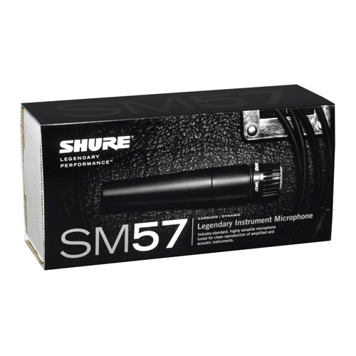 shure sm57 lc sm57 dynamic instrument microphone at mac s com gallery pic 1 gallery pic 2