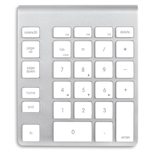 wireless aluminum numeric keypad  apple computers