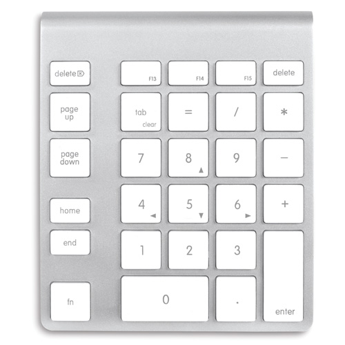 number keypad not working on mac keyboard
