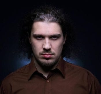 Scott McLeslie of Village Studios looking incredibly serious.