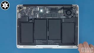 NewerTech NuPower Battery Install into a 2011 MacBook Air 13-inch
