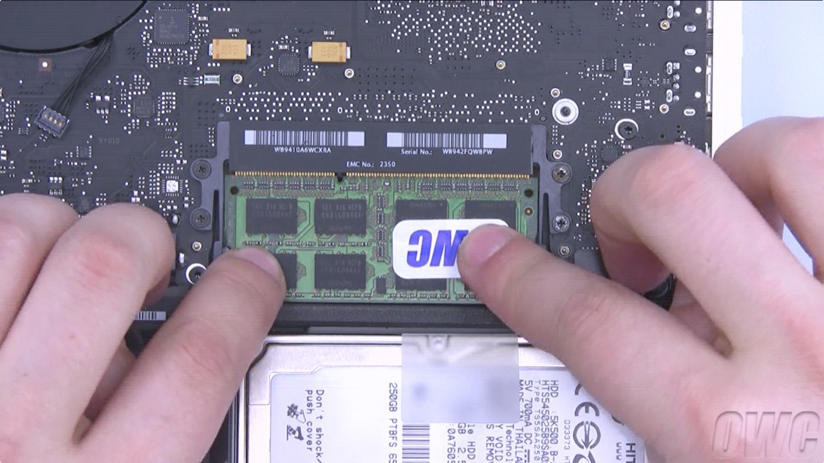 Macbook 2009 Upgrade Step 7b