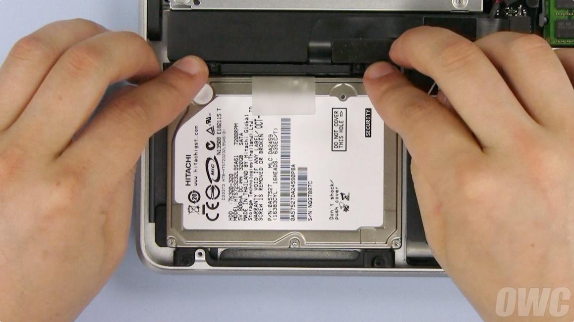 15 Inch Macbook Pro 2009 Hd Upgrade Step 14a